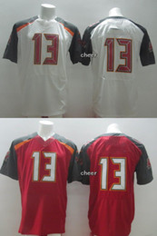 Wholesale 32 Teams Men s Tampa Bay evrns Red White Elite Jerseys Football Jerseys Good quality