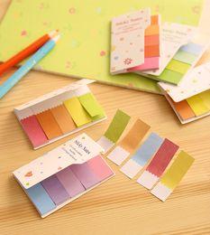 Wholesale Solid kawaii adesivo articulos de papelaria Stationery Planner Scrapbooking Stickers papel sticky notes escritorio