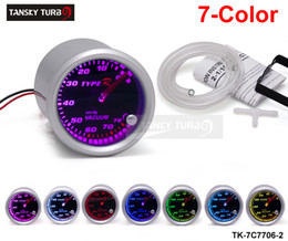 Wholesale Tansky Universal Cars Vacuum Meter Gauge TYPE R quot mm COLOR SETTINGS Vacuum GAUGE TK C7706