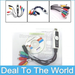 100% Original USB HD Component YPBPR Video Capture with Audio For TV DVD VHS Video Free Shipping