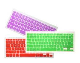Wholesale-US Silicone Keyboard Cover Protector Skin for Macbook Pro 15.4 wireless Waterproof and Dustproof keyboard