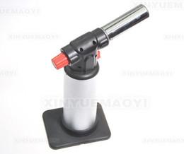 Compra Online De gas de soldadura de hierro-Super Jet llama de la antorcha de soldadura de hierro butano encendedor de gas 1300 ° C Chef soplete Jet llama de la antorcha de soldadura de Cocina con soplete de soldadura fuerte butano