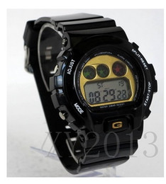 Wholesale New digital shining watch g watch silicone sport shocked watch with metal screw