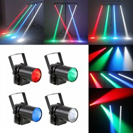 Wholesale 5W Wedding Props Stage Light Glass Ball Beam Lamp Bar LED Sport Lights Dance Hall Sound Control Stage Sport Lights