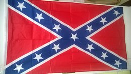 Wholesale The Truth About the Confederate Battle Flags Two Sides Printed Flag Confederate Rebel Civil War Flag National Polyester Flags X3FT DHL Free