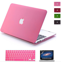 Wholesale macbook air Laptop Case Matte Case for MacBook Air Pro Retina for Apple mac book inch bag with LOGO