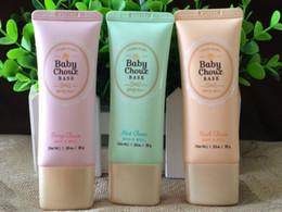 Wholesale New Korean Fashion Brand Sweet Recipe Baby Choux Base SPF PA g Makeup Face Cream Primer Sun Screen Cream