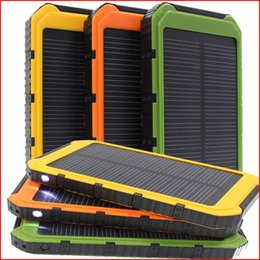Dual USB Solar Battery Chargers High Capacity 20000mAh Portable Solar Energy Panel Charger Power Bank For Mobile Phone PAD Tablet MP4 Laptop