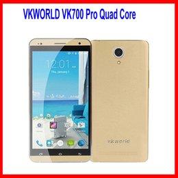 Wholesale 3G WCDMA VKworld VK700 Pro Quad Core MTK6582 GB GB Android4 inch IPS HD GPS MP Camera DualSim Smartphone