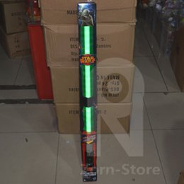 Wholesale Zorn Lightsaber Star Wars Exclusive The Force Awakens Master Replicas Yoda FX LED Electronic Lightsaber Toy green Sound certified products