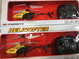 Wholesale-2015 Hot Sale Simple Box Package! Metal 2.5CH RC Helicopter,Remote Control Helicopter,Gyro Toy +2*Main Blades+ Tail Blade