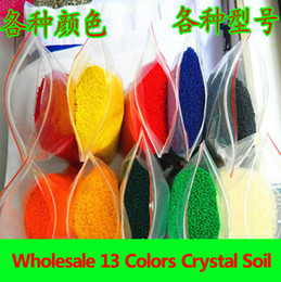 Wholesale 21000Grams Pearl shaped Crystal Plant Soil Beads Gel Jelly Balls Beads Crystal Soil for Wedding Decoration