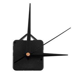 Relojes de cuarzo piezas en venta-Nuevo Clásico Negro Triángulo Manos Reloj de cuarzo Movimiento Mecanismo de piezas Sustitución de herramientas Silencio Silencioso