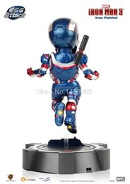 Wholesale Super Heros Egg Attack Ironman Iron Patriot cm Action Figure Collectible Model Toy IR010
