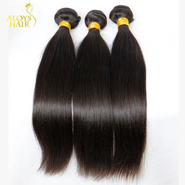 Wholesale Mongolian Straight Virgin Hair Weave Bundles Unprocessed Mongolian Remy Human Hair Wefts Natural Black Extensions g Pieces Tangle Free