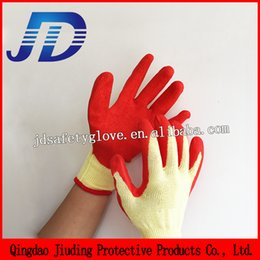 Wholesale Safety equipment new product cheap latex safety hand glove for machinery with china gloves manufacturer