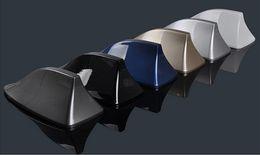 Wholesale Newest Car Shark fin Radio Signal Antenna Aerials M adhesive sticker with FM AM Chip for Chevrolet Cruze aveo Santana Xin Rui Jetta