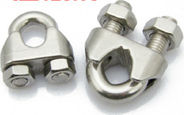 Stainless steel wire rope clip clamp stainless steel clamp u-shaped clip wire clip