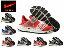 Wholesale Nike Fragment X Nike Sock Dart Air Presto Men s Women s Running Shoes Original new Cheap Best Tennis Jogging Sports Shoes
