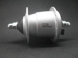 Wholesale last one original sraam sliver color D3 V w bearing bicycle electricity generator hub