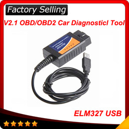 Wholesale 2016 Top selling ELM327 usb and best shipping elm obdii interface High quality Super scanner