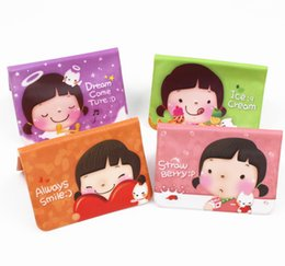 Wholesale Hot Sale South Korean girl selling cookies card pack lovely angel card package card clip screens card copies