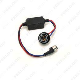 2pcs DC12V 1157 BAY15d Turn Signal Socket Warning Error Canceller Error Free Load Resistor LED Decoder #2268