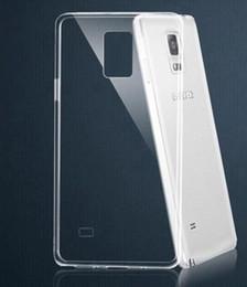 Cas transparents pour iphone 4s en Ligne-Transparente en TPU gel Cristal Clair 0,3 mm Ultra-mince souples en silicone à l'Arrière de l'étui Cover pour iPhone 4 4S 5 6 5S 5C iphone 6, Plus le galaxy S5 Note 4 3