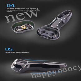 Wholesale ONSALE6PC RENARKABLE ENVIRMENTAL AFFORTABLE AFFORDABLE USB Rechargeable Good Mens Electric Shaver durable environmental rinses