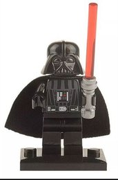 Wholesale Single Sales XH Building Blocks Star Wars Darth Vader MiniFigures Darth Maul Raven Chewbacca Toda Storm Tropper Mini Figures