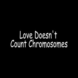 Wholesale Car Stickers Love Doesn t Count Chromosomes Vinyl Sticker For Car Window Decal Down Syndrome Child Awareness