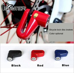 Wholesale Bike Locks Anti theft Disk Disc Brake Rotor Lock For Scooter Bicycle Safety Lock For Scooter Motorcycle Safety