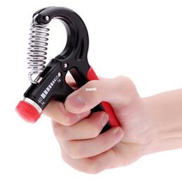 Descuento ejercitador de agarre 10-40 Kg Adjustable mano agarre muñeca Fuerza del antebrazo Entrenamiento Mano Gripper Gym Power Ejercitador de la mano Heavy Grip Grips