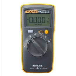 Wholesale-Fluke 101 Basic Digital Multimeter !!! Brand New !!!! Original F101 Pocket digital multimeter auto range F101 free shipping