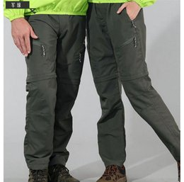 Wholesale Men Women elastic quick drying pant Waterproof breathable perspiration couples hiking trouser cycling outdoor clothing hiking pants