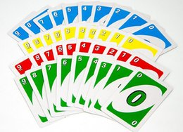 UNO party card family board games puzzle game standards UNO poker party games people play games free shipping