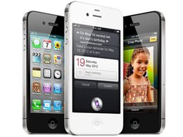 iPhone4s Unlocked Original Apple iPhone 4S iOS 8 Dual-core 16GB 32G ROM 3.5 inches 8MP Camera WIFI 3G GPS Cell Phone Sealed box Black White