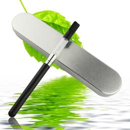 Wholesale Bud Touch Hemp Wax Vaporizer mAH Automatic Battery with LED Starter Kits CBD Oil Vaporizer Pen Black SS White Colored Bud Ecigarette