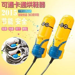 Wholesale B04 cartoon little yellow people bake shoes Dry shoes deodorant sterilization warm shoes shoes dryer roasted