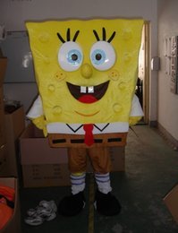 Wholesale High quality sponge mascot bob mascot costume