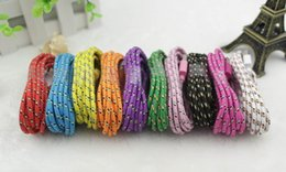 Fabric Nylon 1M 2M 3M Braided Charger USB Sync Data Charging Charger Cable Cord Good Wire Line for Phone Samsung S6 S7 HTC Android IPhone