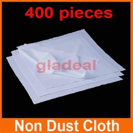 Wholesale 400pcs Cleanroom Wiper Non Dust Cloth Dust Free Paper Cleaning LCD Touch Screen Repair Tool For iPhone Samsung