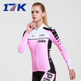 Wholesale-Professional Women Cycling Long Sleeve Jerseys Sets Breathable Quick Dry Cycling Jerseys Sets Cycling Wear #5018
