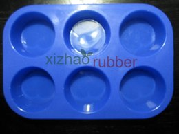 Silicone cake mould& Chocolate mould& ice cube tray& Mat& scraper& Brush-6A029 Silicone Toast Mould