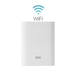 Wholesale Portable G G Wifi Router Pocket Wireless Hotspot With Mbps WiFi Transfer Rate mAh mah Power Bank Router Xiaomi MF855