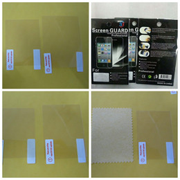 "Clear Screen Protector 2.5"" 2.7'' 2.8'' 3.0'' 3.2'' 3.5'' 4.0'' inch For Digital Camera LCD Film Retail Package"