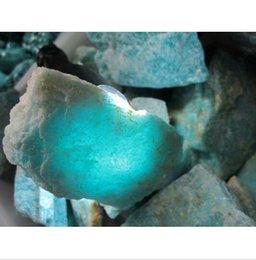 Wholesale Natural amazonite mine specimens gems stone nunatak wheel ore energy stone