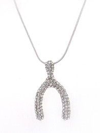 Free Shipping rhinestone Crystal snake chain Pendant Necklaces women Jewelry