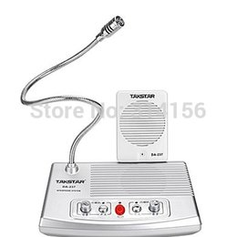 Wholesale TAKSTAR DA Full duplex Interphone Bank Ticket Cash Window Non visual Intercom System