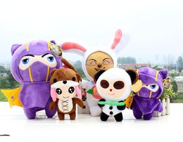 Wholesale 20cm League of Legends plush toy doll blind monk Kennan Anne anti pet Timo full set of dolls